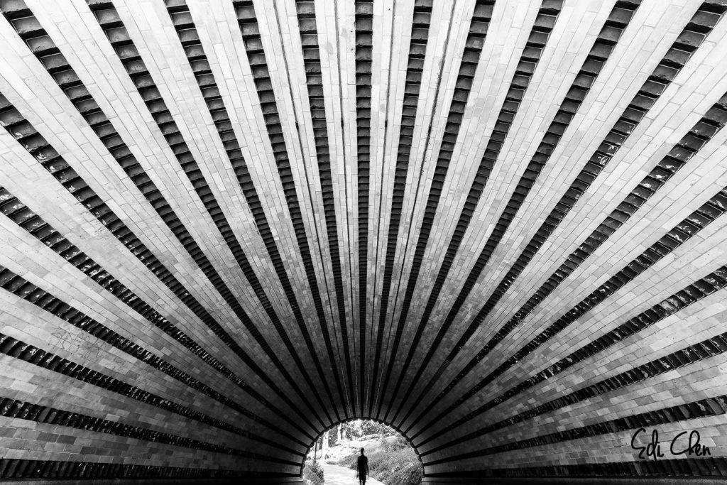 Black & White Architectural Photography - Fine Art Prints by Edi Chen