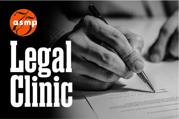 ASMP Member Business / Legal Questions