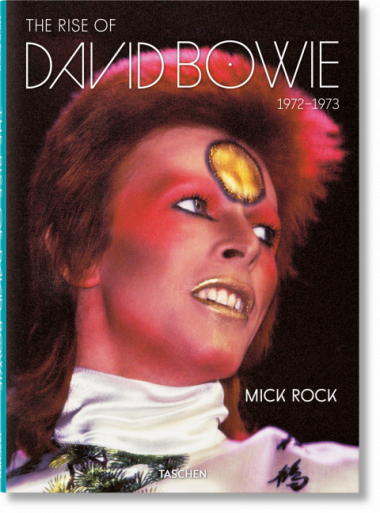 Rise of David Bowie by Mick Rock book cover
