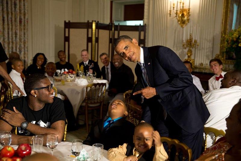 Photo of President Obama bu Pete Souza
